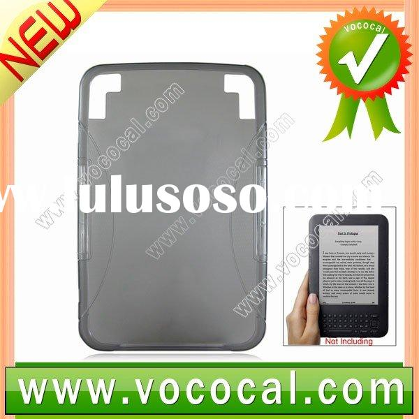 Kindle 3 Case,Gel TPU Case for Amazon Kindle 3G Ebook Reader