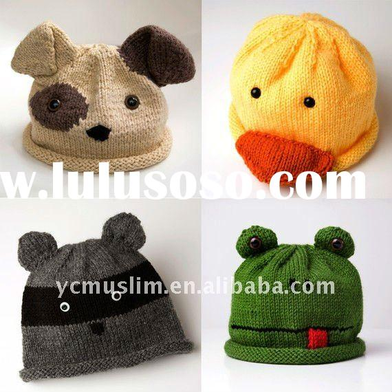 pattern for child animal hat