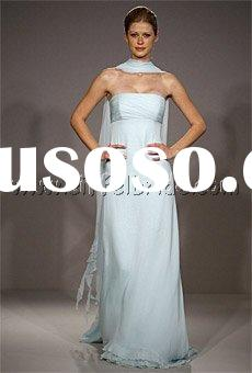 LAF2641 pale blue evening dress popular evening dress beautiful evening dress plus size evening dres