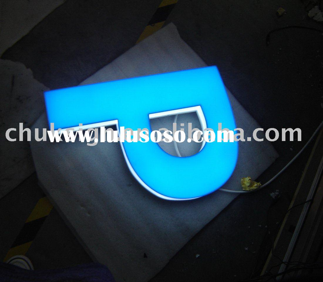 how to make acrylic led sign