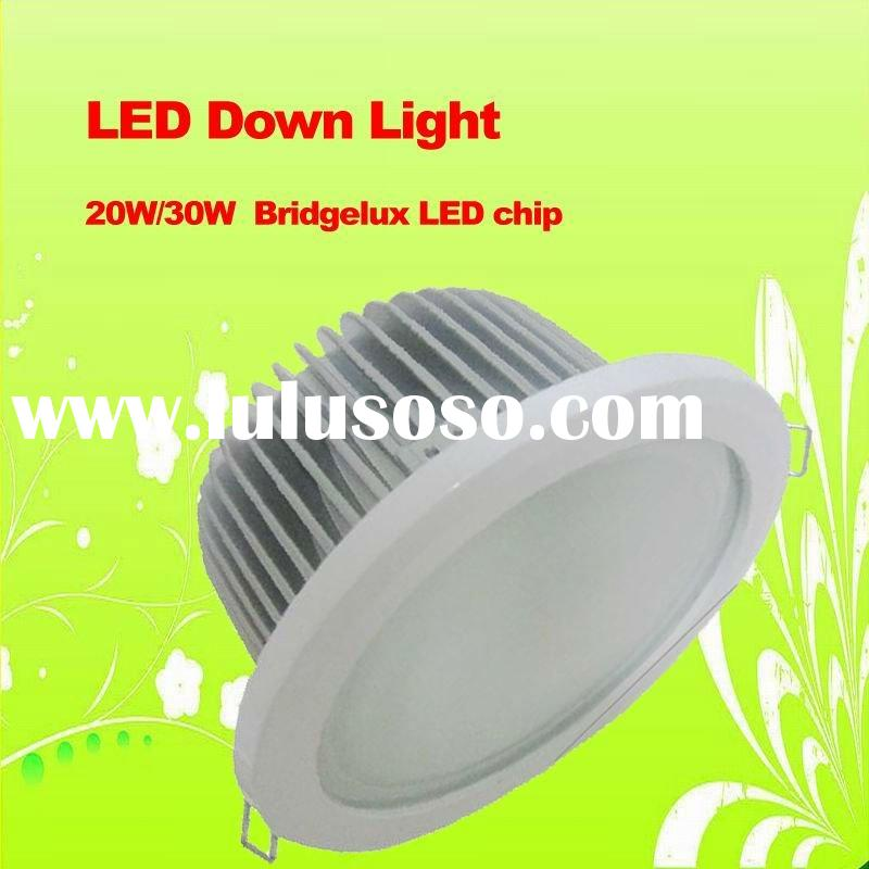 LED down light with COB Bridgelux chip/LED down light China supplier