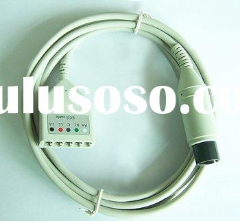 LL type 5-pin ECG lead wire