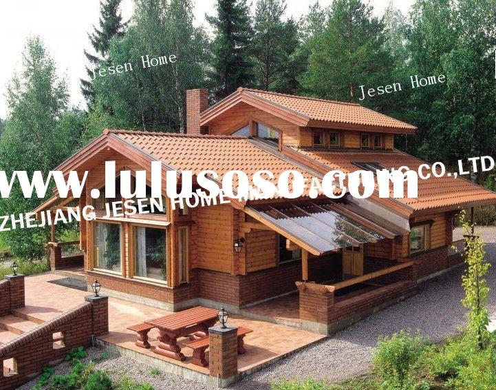 Small wooden homes plans