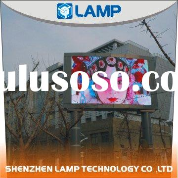 Lamp outdoor full color advertising LED display screen