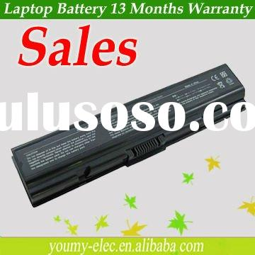 Laptop battery for TOSHIBA PA3534U battery,A200 A300 M200 Battery9,cell,1 year warranty,10.8 v/7200m