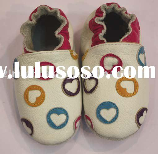 Leather Baby shoes,soft sole shoes