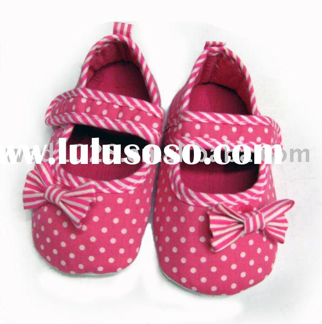 Leopard/Zebra Baby crib Shoes/Animal printed baby shoes JYS00020
