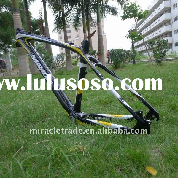 MIRACLE BRAND Sale 3K&12k Carbon Fiber MTB Frame, Mountain Bike new design ,bicycle frame . bicy