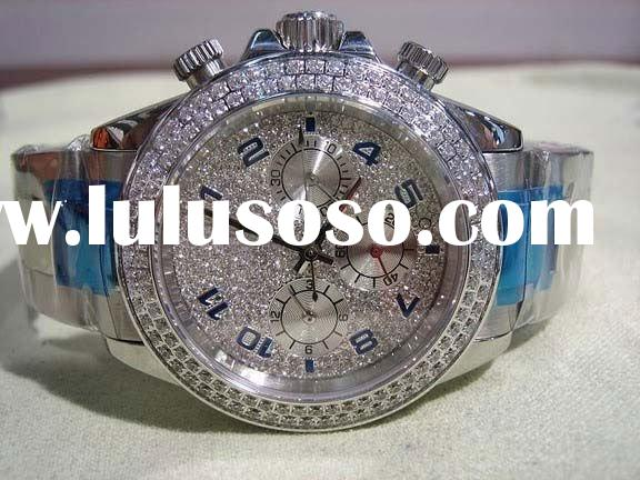 Men's diamond watches, paypal accpet