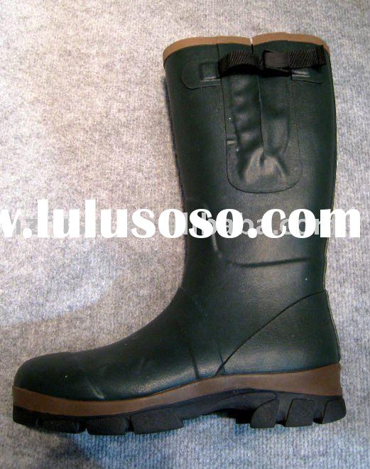Men's rubber rain boots