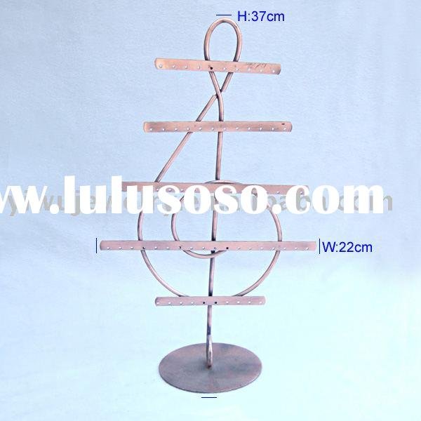 Metal Jewelry tree Stand