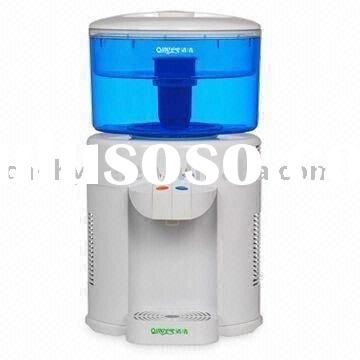 Mini Water Dispenser with 5L Capacity and 50 to 60Hz Operating Frequency for Hot and Cold Water