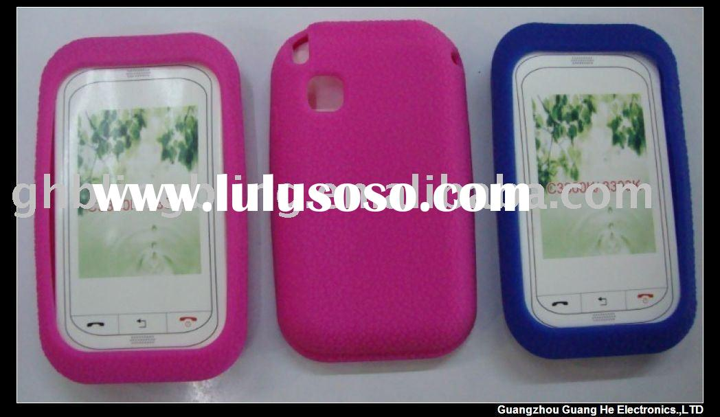 Mobile phone Silicone Case for Samsung C3300(paypal acceptable)