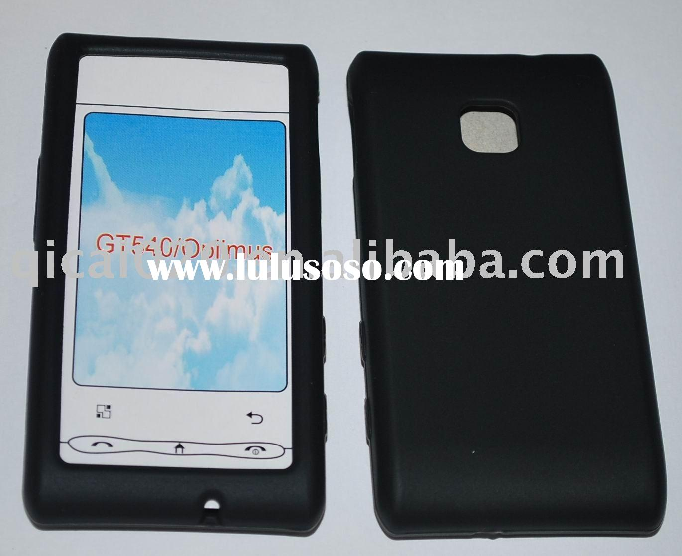 Mobile phone silicon case for LG GT540