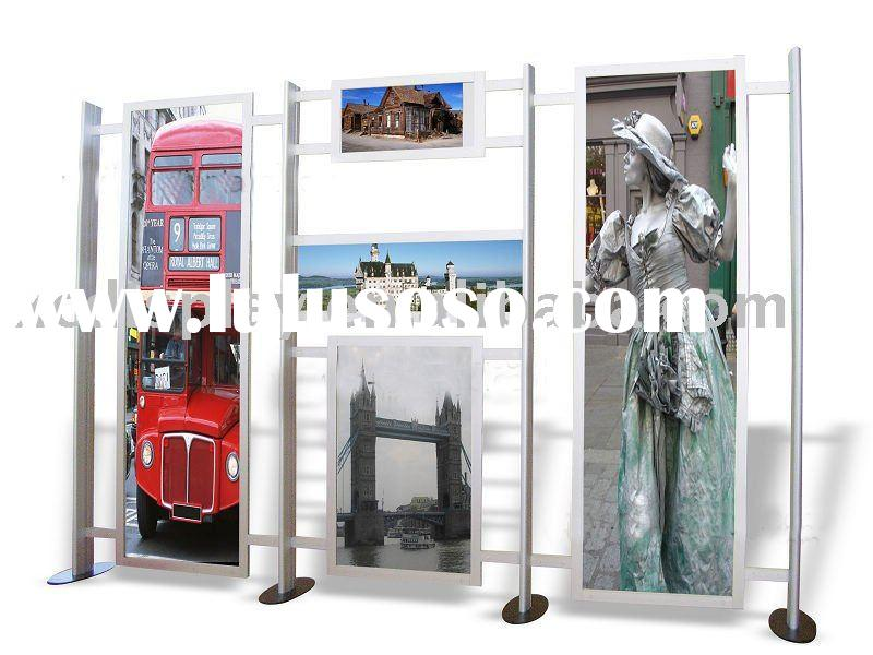 Modular Advertising board image display frame poster display stand