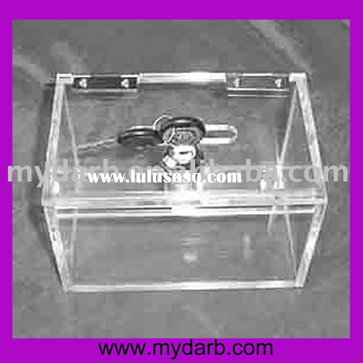 Mydarb - Acrylic box with hinge lid