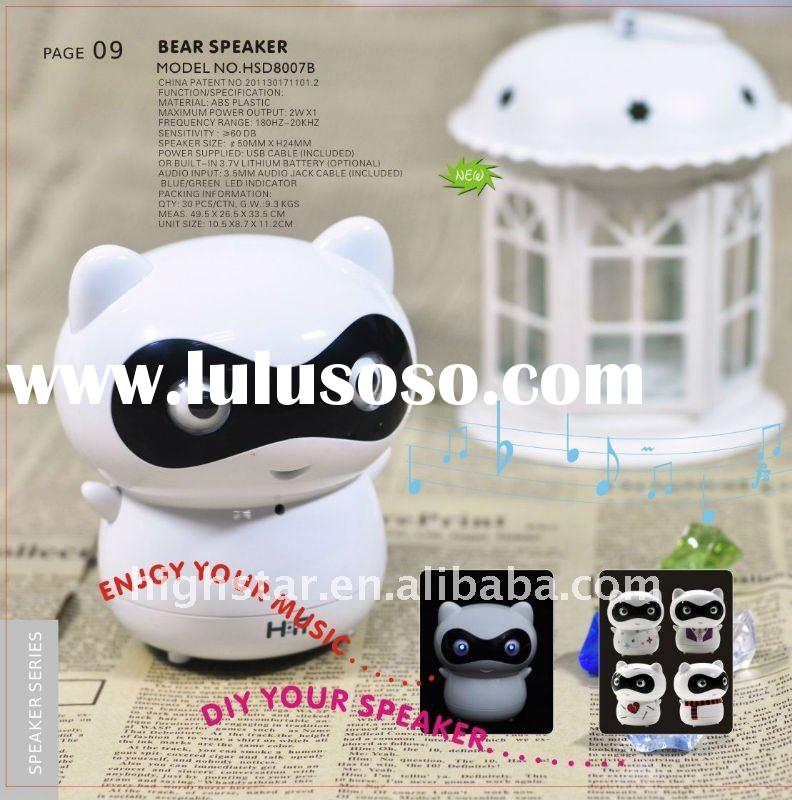 New Bear Mini Speaker For iPhone iPod Laptop MP3