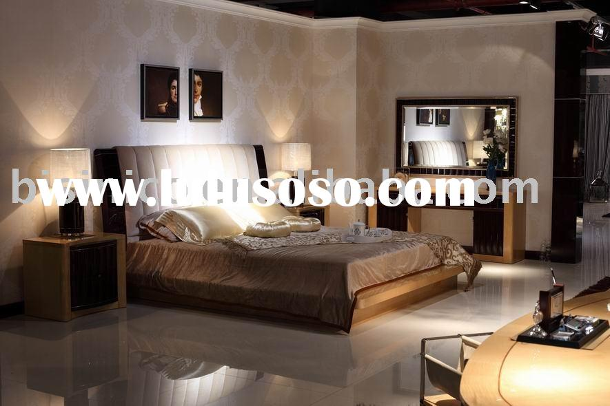 New classical bedroom furniture,bed,side table,bench,dresser,mirror,stool,wardrobe,solid wood bedroo