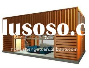 New design hot sold folding living Prefab Steel structured house Container home