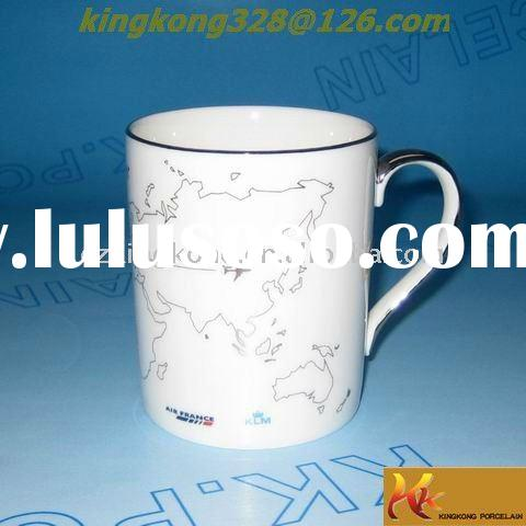 New porcelain ceramic coffee water mug and cup