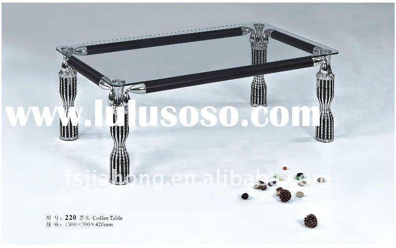 New type metal table frame for glass coffee table