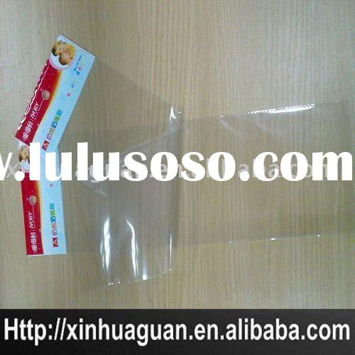 OPP plastic bag with self adhesive seal
