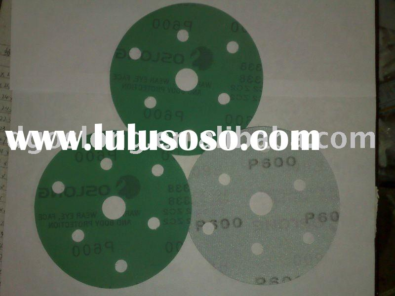 OSLONG L338 self-adhesive Film-Backed sandpaper(abrasive disc)(velcro discs)film abrasive paper roll
