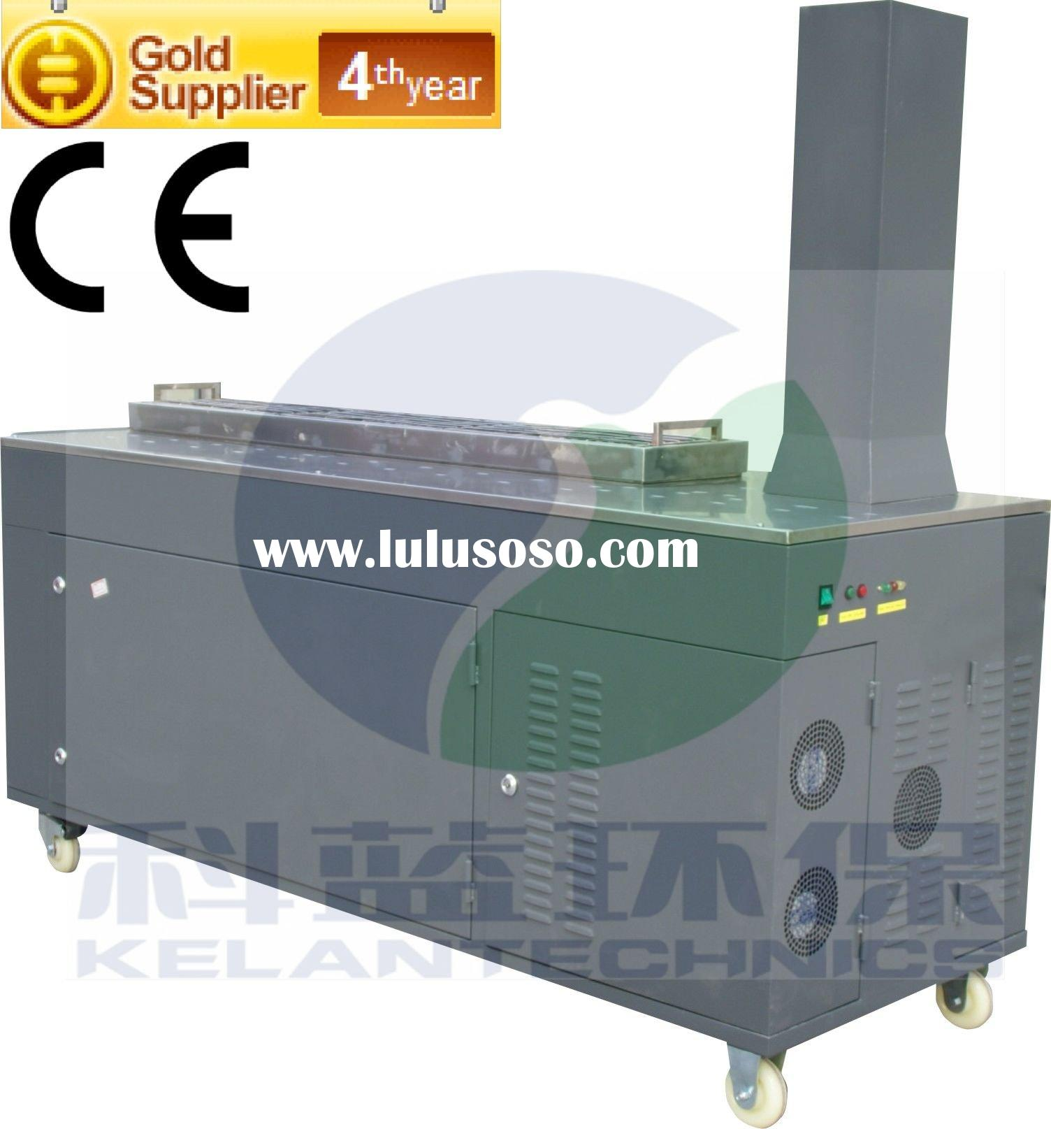 Outdoor BBQ Stove Grill with Electrostatic Gas Purifier