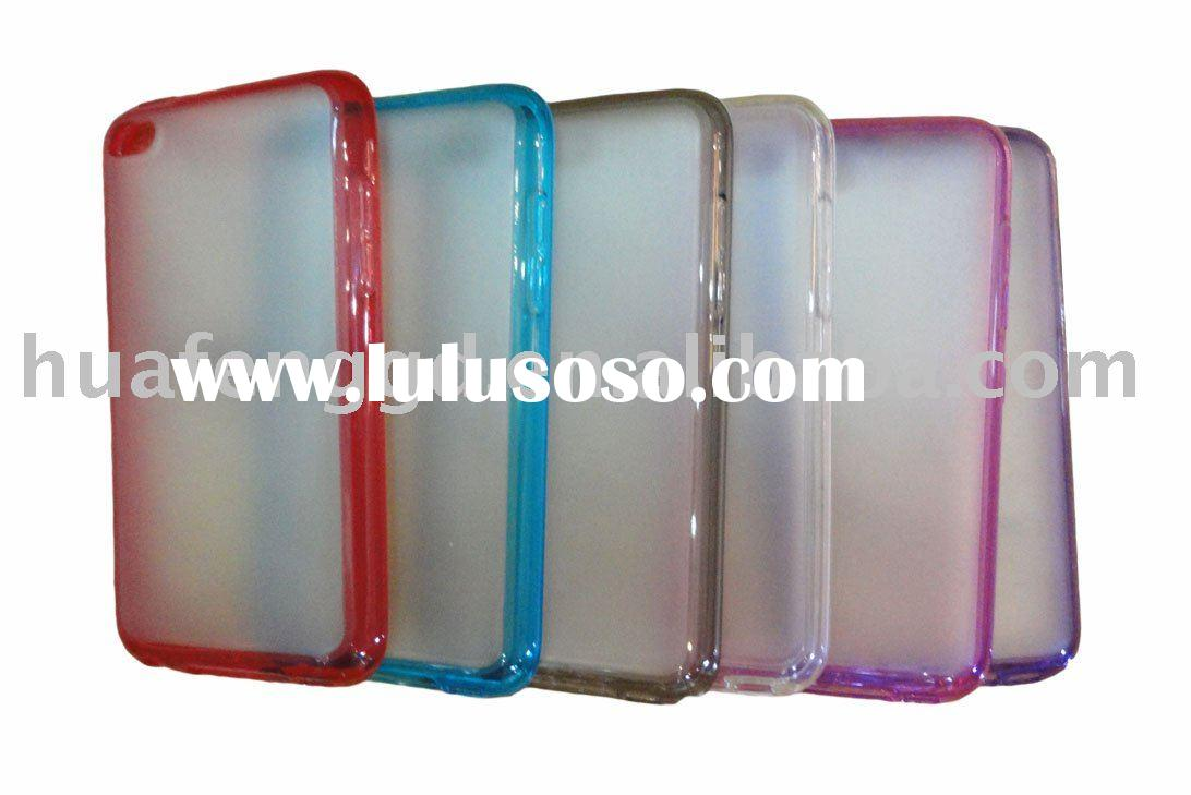PC+TPU Hard Case for iPod Touch 4 Hot selling