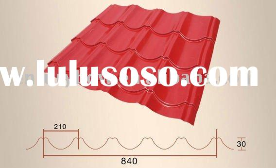PPGI Roofing Tile, Curved Steel Roofing, Roofing sheet, Roof Material