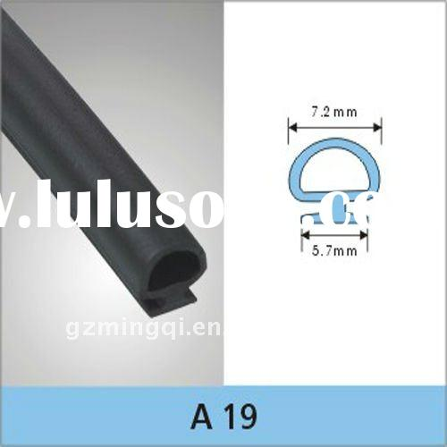 PVC & EPDM material sponge rubber door seal strip