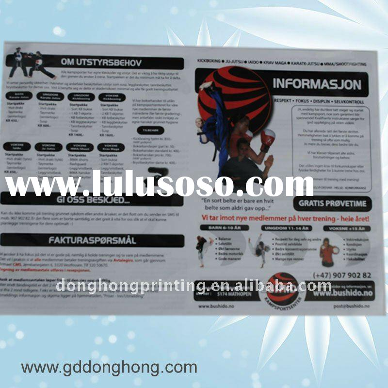 Paper cheap poster printing for decoration