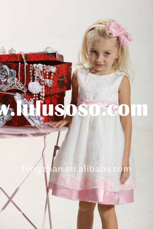 Pink Nana Most popular style baby girl party dress