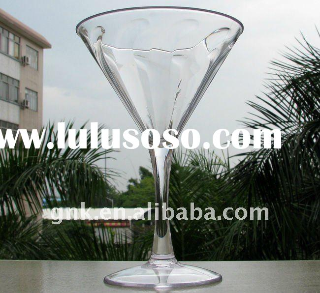 Plastic Martini glasses