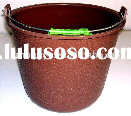 Plastic cleaning pail with handle for construction and agriculture 14L SGS PASS