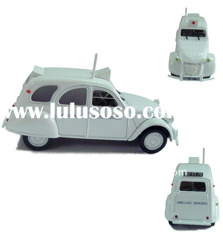 Plastic toy car Mini car model