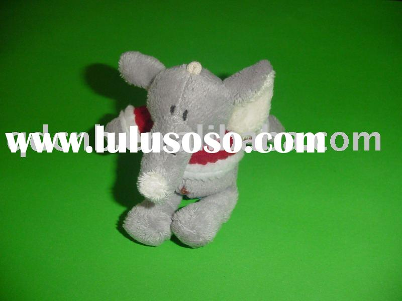 Plush Elephant Mini Plush Elephant Super Soft Material Mini Boa Elephant Toy Stuffed Bear T Shirt