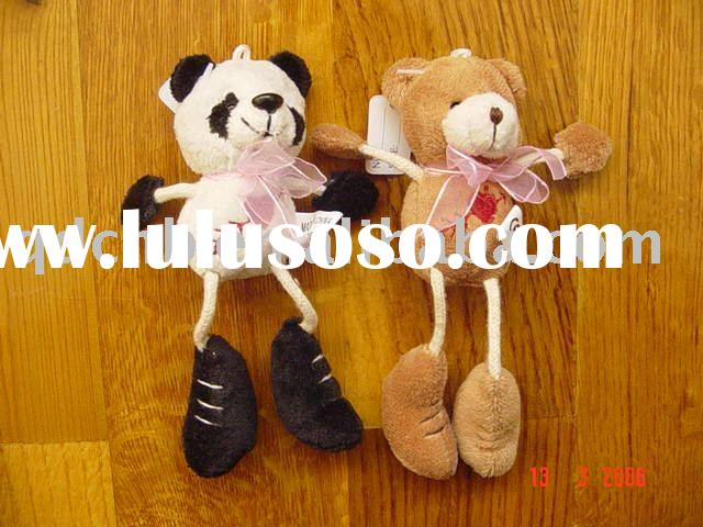 Plush Panda Bear Toy with Soft Legs Panda Bear Plush Mini Toy Miniature Plush Toy