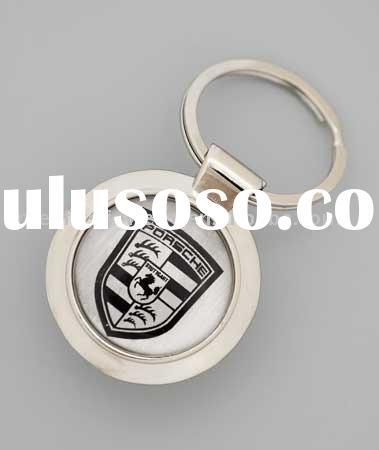 Porsche Keychain/keyring/car logo keychain/souvenir/keepsake/key holder/metal/promotional/key chain/