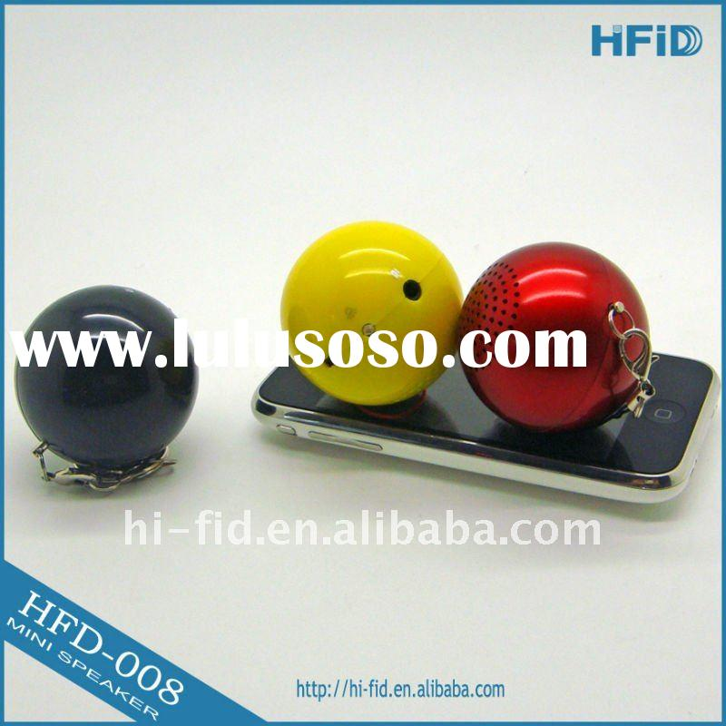 Portable Mini Ball MP3 Speaker for iPod