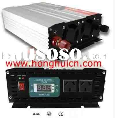 Power inverter with battery charger 1000W