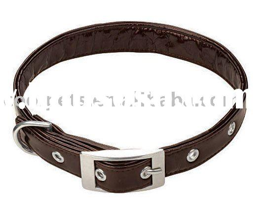 Pu Leather Dog Collars & Leashes