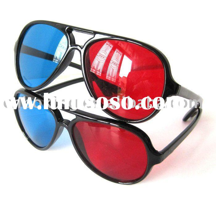 Red/Cyan Plastic 3D Glasses BKDG-1041