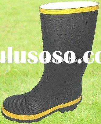 Rubber safety boots(steel toe-cap)