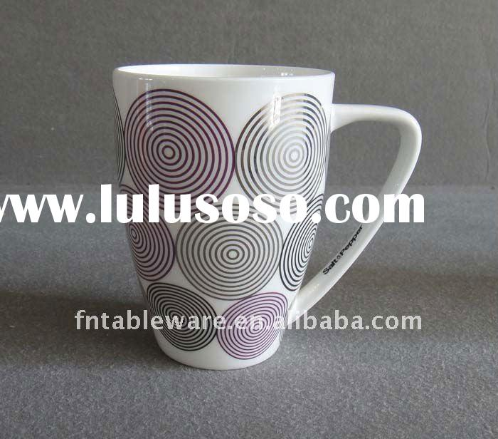 SS081311 Hot selling fine bone china coffee mugs with new design