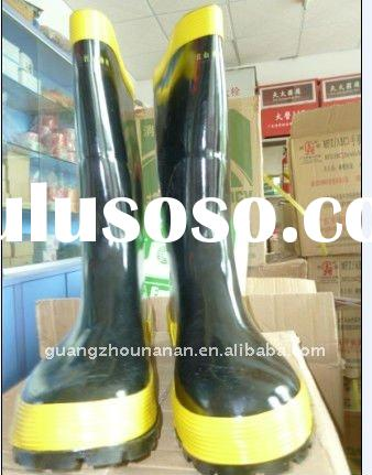 Safety Rubber Boot with Steel Sole