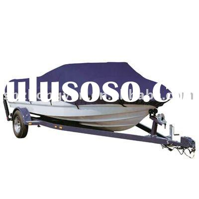 Solution dyed 600D pu coated polyester fabric for boat cover and bimini tops
