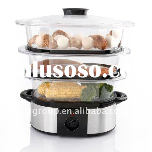 Stainless Steel Electric food steamer (XJ-5K118CO)