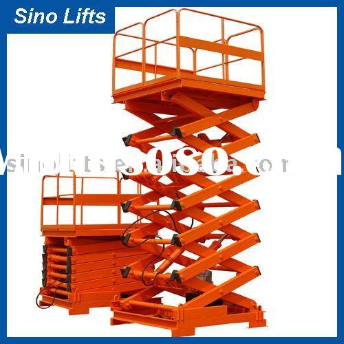 Stationary hydraulic lifter Stationary scissor lift table(SJG2-4)