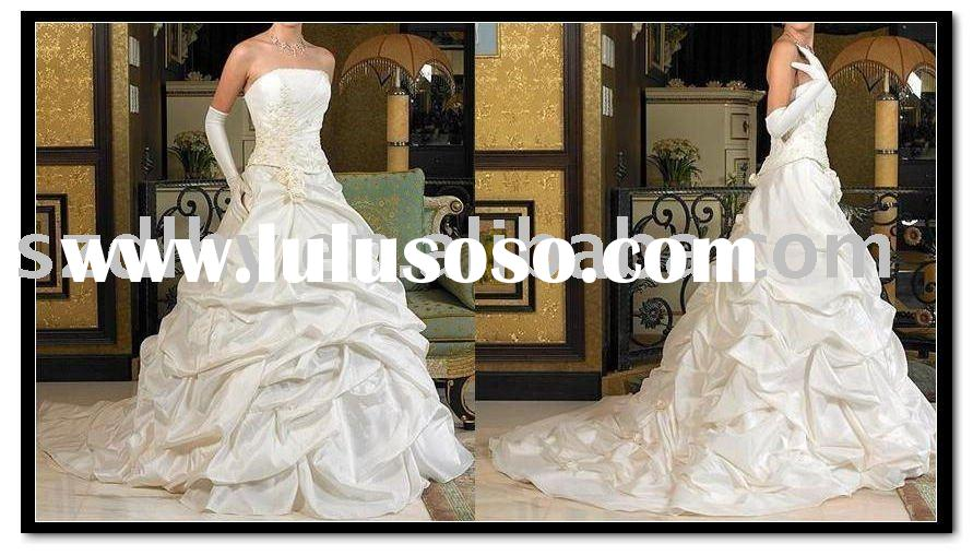 TY10588&2011 new style unique design high-quality low price wedding dress